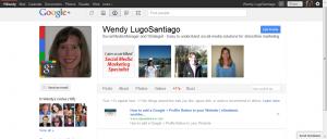 The best Google+ profile, part 1