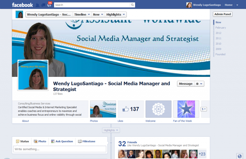 New Facebook Page Changes March 2012